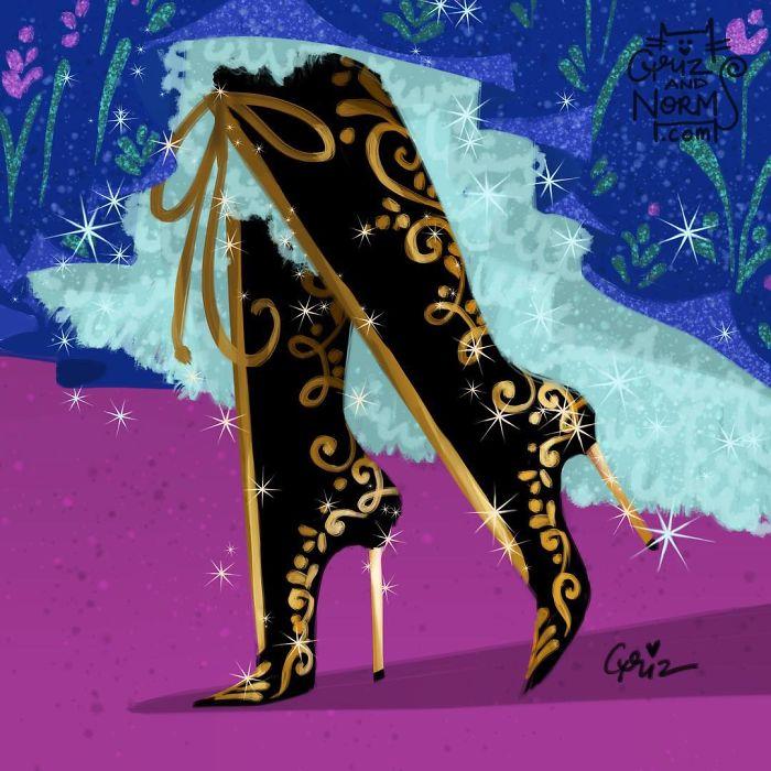 Disney Merida Shoes Uk