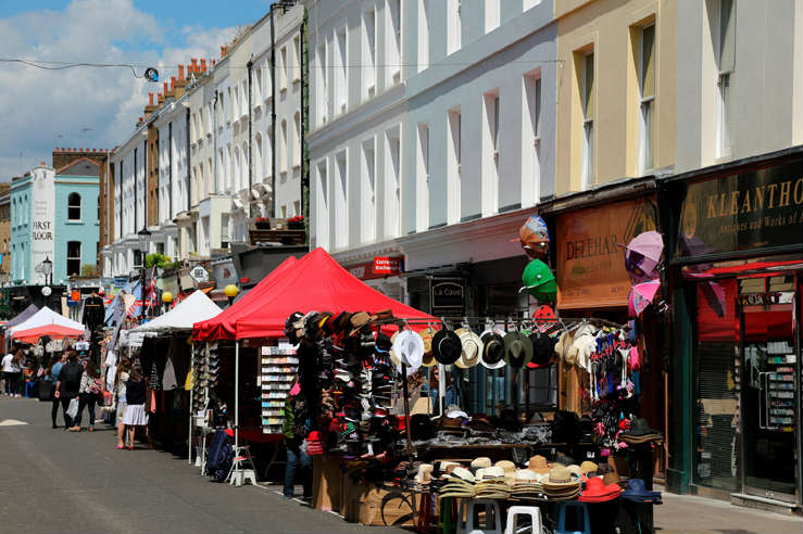 London Notting Hill Portobello Rd