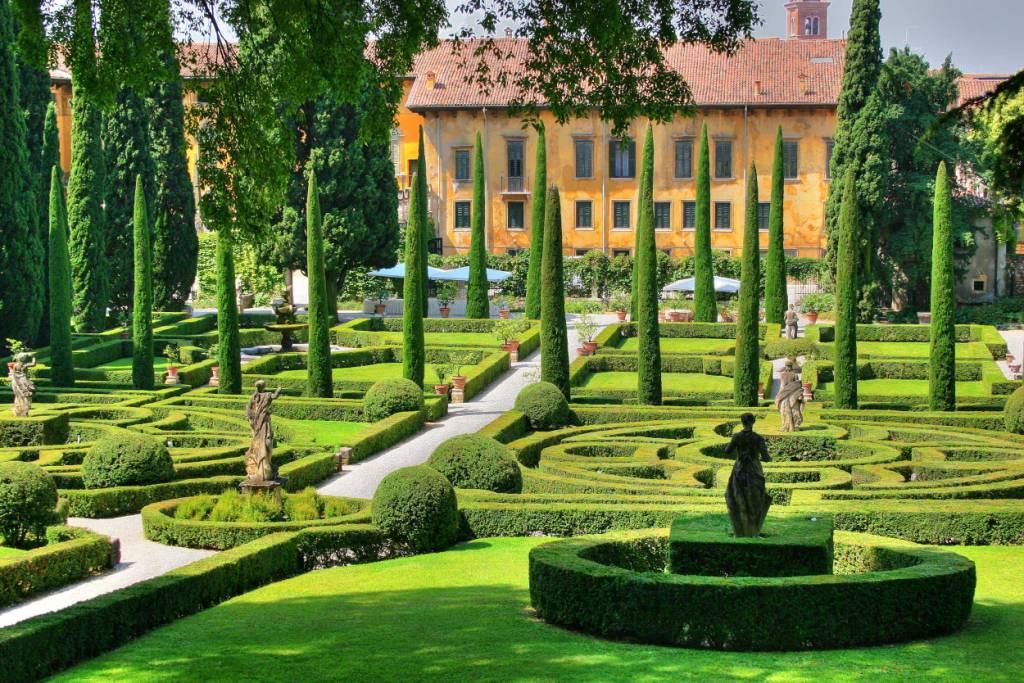Mete fiabesche da visitare in Italia - Giardino Giusti, Verona 2
