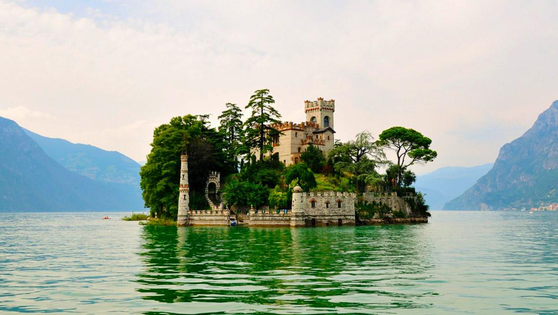 Mete fiabesche da visitare in Italia - Isola di Loreto, Lombardia