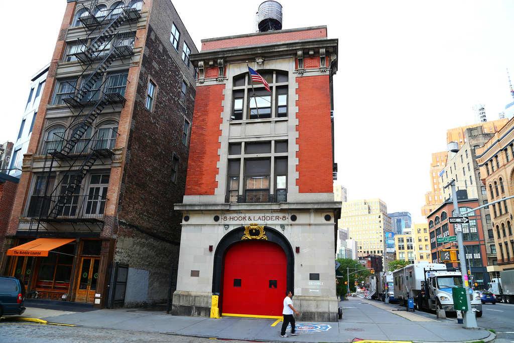 mete cinematografiche new york - caserma pompieri ghostbusters