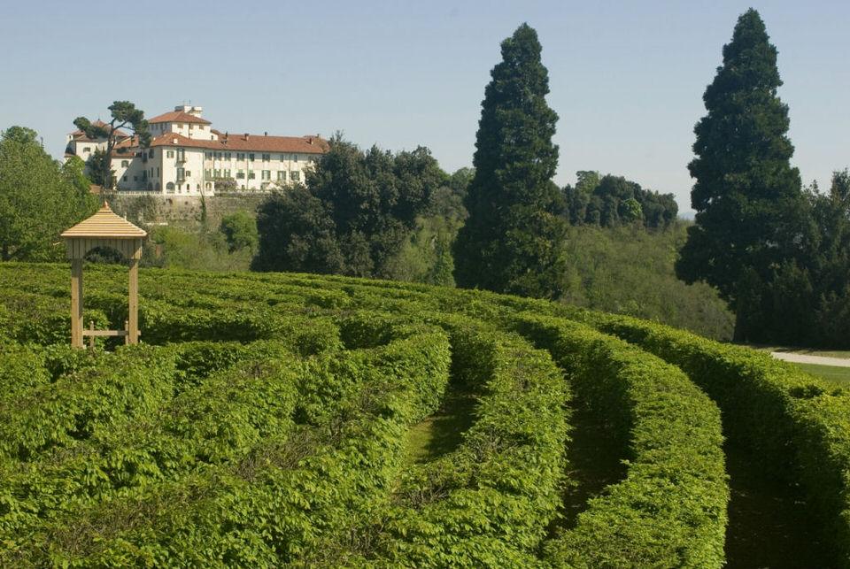 Labirinti famosi - labirinto Castello di Masino