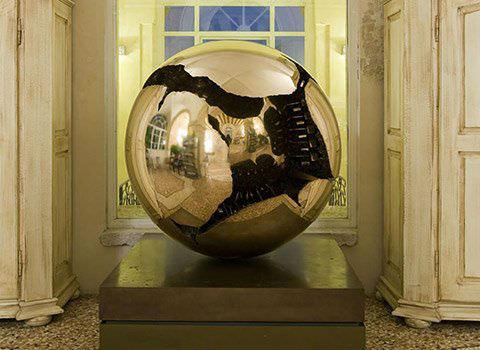 sfera A. Pomodoro-Ristorante Amistà 33