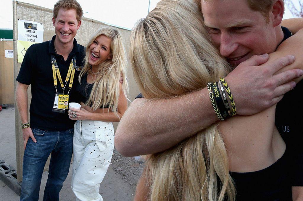 Ellie Goulding e il principe Harry