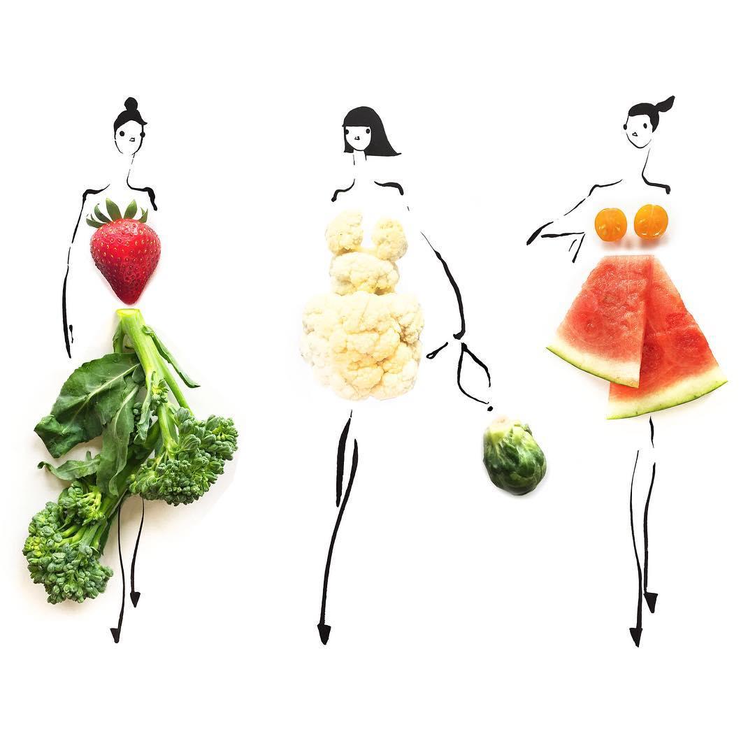 Abiti di frutta e verd... Alec Baldwin Instagram