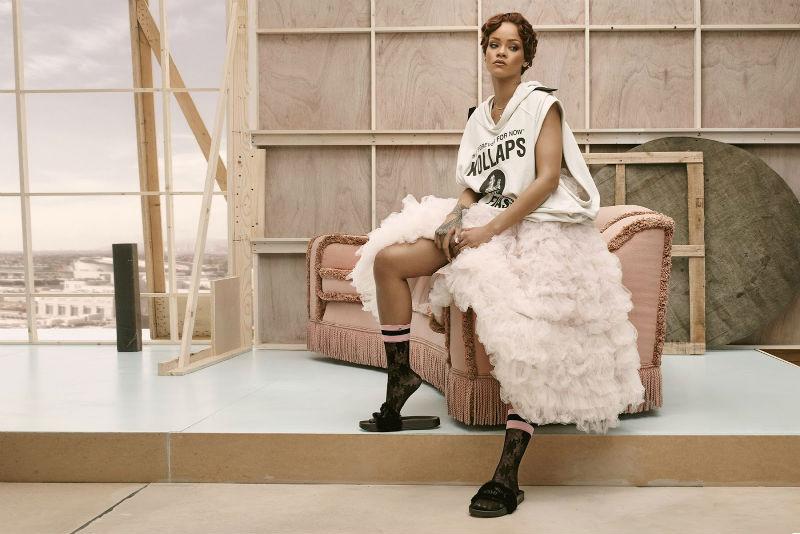 "Rihanna per ""Fur Slide"", Puma"