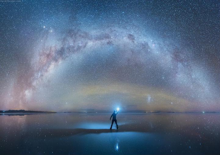 Il Salar de Uyuni di notte fotografato da Daniel Kordan