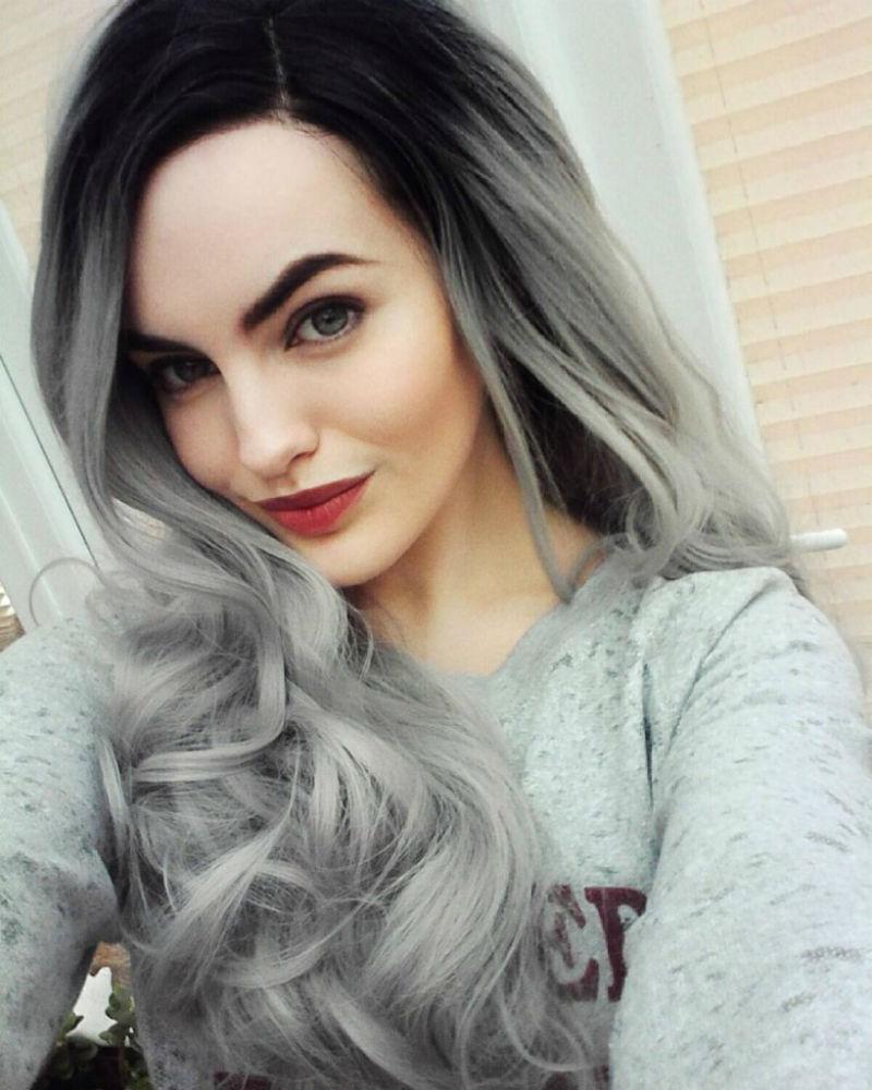 Grey ombré hair: i capelli dell'Autunno/Inverno 2016 ...