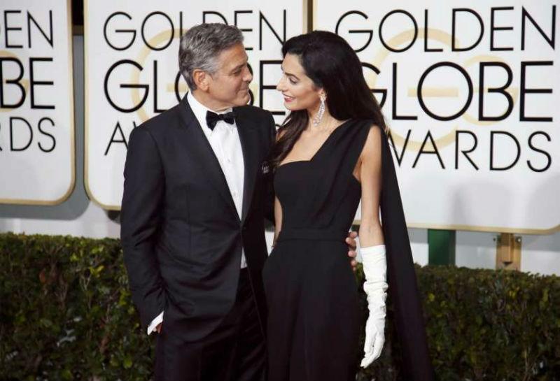 George Clooney papà a marzo, Amal in attesa di due gemelli
