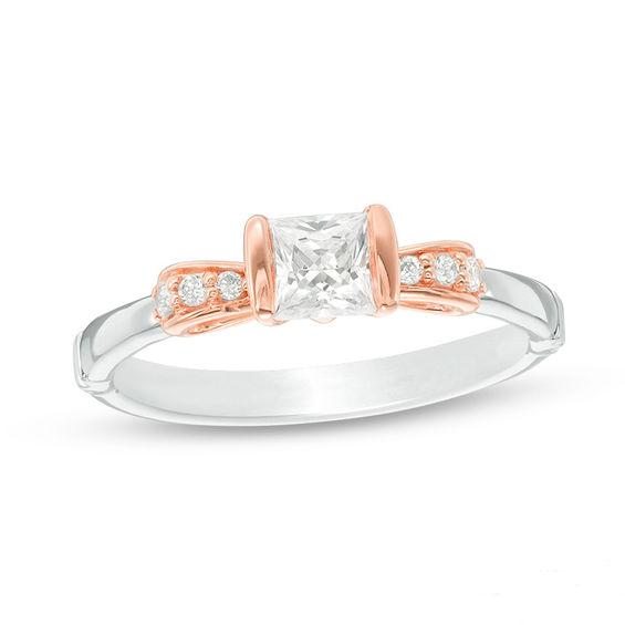 anelli di fidanzamento disney by zales