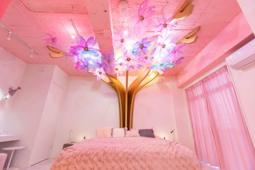 Moshi Moshi Rooms stanza sakura tokyo
