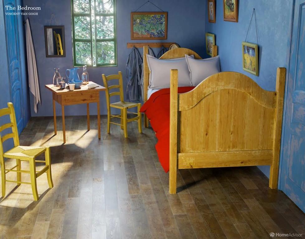 Camere Famose Della Storia Dell Arte La Camera Di Vincent Ad Arles Di Van Gogh 2 361magazine 361magazine