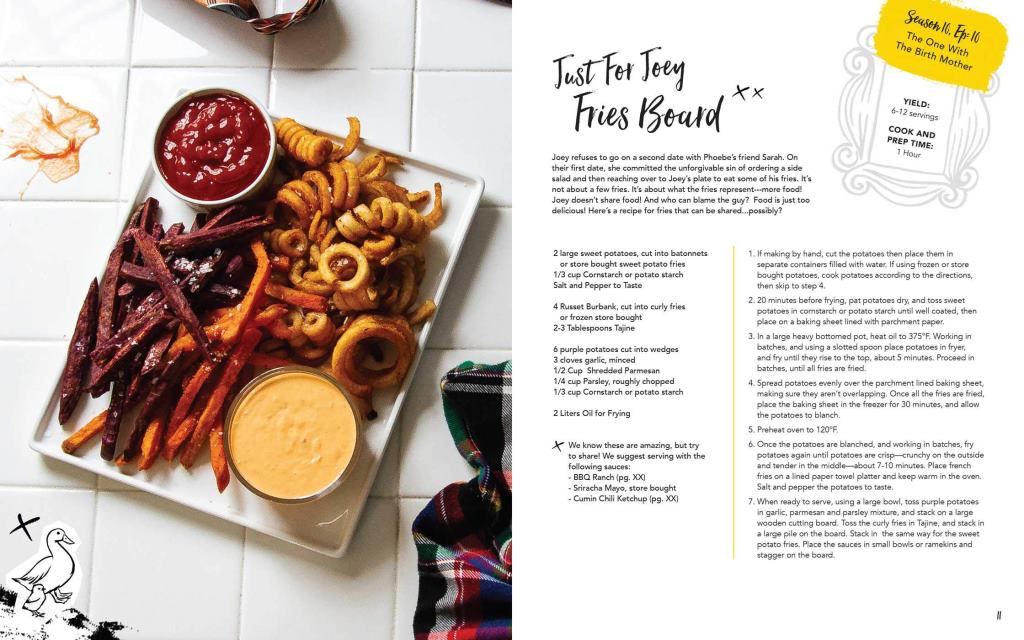 Friends libro ufficiale ricette