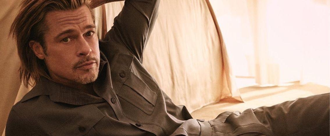 Brad Pitt firma una capsule collection per la maison Brioni