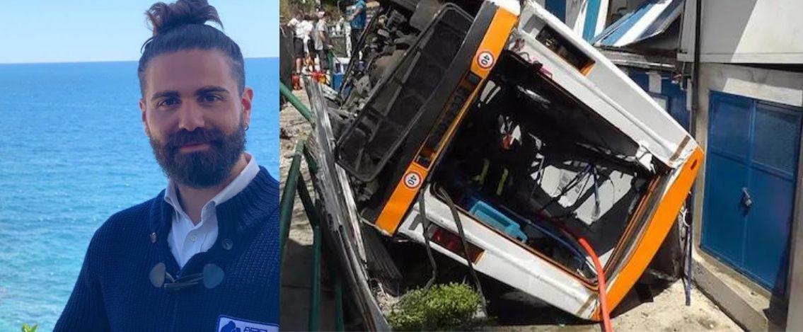Capri, i primi esiti dell'autopsia sul corpo dell'autista del minibus precipitato