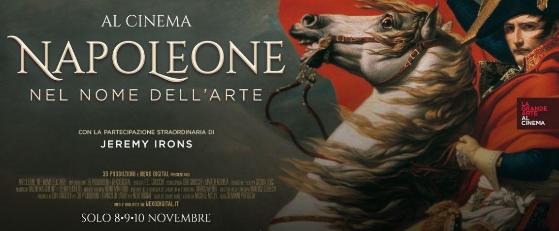 Napoleone. Nel nome dell'arte, con Jeremy Irons è al cinema l'8, 9, 10 novembre